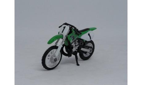 Мотоцикл Kawasaki, 1/32, Cararama, масштабная модель мотоцикла, Bauer/Cararama/Hongwell, 1:32
