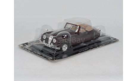 Суперкары №4 JAGUAR XK 140, журнальная серия Суперкары (DeAgostini), scale43