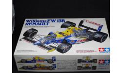 Williams FW13B Renault, 1/20, Tamiya, сборная модель автомобиля