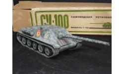 СУ-100, Арсенал, ранняя коробка, вкладыш, масштабные модели бронетехники, 1:43, 1/43