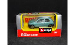 Renault Clio RT, Bburago, масштабная модель, scale43