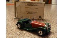 Jaguar SS 100, MATCHBOX, масштабная модель, 1:64, 1/64