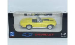 Chevrolet Corvette 1967, NewRay, масштабная модель, 1:43, 1/43