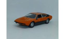 Суперкары №38 Lamborghini Urraco, журнальная серия Суперкары (DeAgostini), 1:43, 1/43