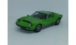 Суперкары №26 Lamborghini P400 Miura, журнальная серия Суперкары (DeAgostini), 1:43, 1/43