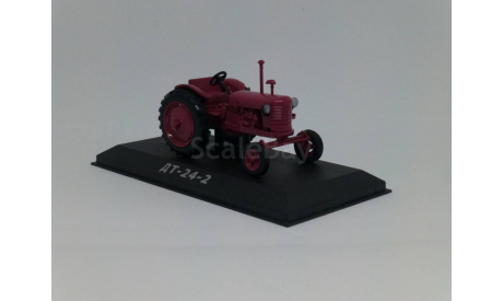 Тракторы №31 - ДТ-24.2, журнальная серия Тракторы. История, люди, машины (Hachette), 1:43, 1/43