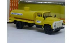 Газ 53 бензовоз Аэрофлот, Компаньон, масштабная модель, scale43