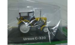 Тракторы №91 - Ursus C330, журнальная серия Тракторы. История, люди, машины (Hachette), 1:43, 1/43