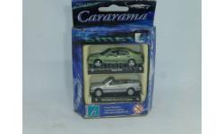 Mercedes-Benz CLK + Saab 9-5, Cararama, 1/72