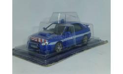 Полицейские Машины Мира №4 Subaru Impreza, журнальная серия Полицейские машины мира (DeAgostini), scale43