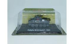 Танки Мира.Спецвыпуск №1. PzKpfw 38 (t) Ausf.F - 1941, журнальная серия Танки Мира 1:72, 1/72