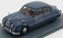 Jaguar 2.4 Lhd 1955 Blue / Grey Neo 44331, масштабная модель, Neo Scale Models, scale43