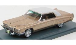 Cadillac Coupe de Ville 1972 Gold Metallic Neo 1/43, масштабная модель, Neo Scale Models, 1:43