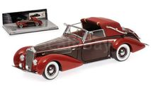 Delage D8-120 Cabriolet 1939 (Minichamps 437115130), масштабная модель, 1:43, 1/43