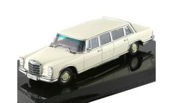 Mercedes-Benz 600 LWB (W100) Autoart слоновая кость