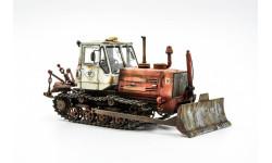 модель трактора Т-150 с отвалом, масштабная модель, AVD Models, scale43
