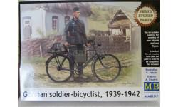 Германский солдат с велосипедом, сборная модель (другое), 1:35, 1/35