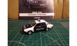 Dacia 1310 Полиция Румынии 1:43 ПММ, масштабная модель, DeAgostini, 1/43