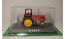 трактор Т-28Х3, масштабная модель трактора, ВТЗ, Тракторы. История, люди, машины. (Hachette collections), 1:43, 1/43