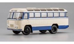 ПАЗ 652 1958 г., маршрут 'Сталинград - Михайловка', масштабная модель, scale43