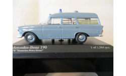 МЕРСЕДЕС-СКОРАЯ ПОМОЩЬ, масштабная модель, Minichamps, scale43, Mercedes-Benz