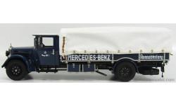 MERCEDES BENZ  LO2750 LKW RENNTRANSPORTER TRUCK, масштабная модель, Mercedes-Benz, CMC, 1:18, 1/18