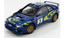 SUBARU IMPREZA STI WRC # 4, масштабная модель, Autoart, 1:18, 1/18