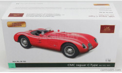 JAGUAR  C-TYPE SPIDER, масштабная модель, CMC, 1:18, 1/18