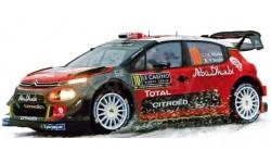 CITROEN C3 WRC #10 RALLY MONTECARLO 2018