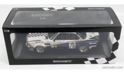 BMW 3.0CSL TEAM JEAN-CLAUDE GIROIX GARAGE DU BAC #76 24h LE MANS 1977, масштабная модель, Minichamps, 1:18, 1/18