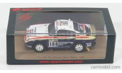 PORSCHE 959/60 #186 WINNER RALLY PARIS DAKAR 1986, масштабная модель, Spark, 1:43, 1/43