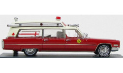 CADILLAC S&S AMBULANCE, масштабная модель, Neo Scale Models, scale43
