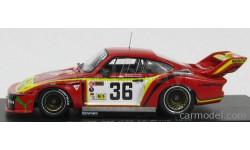 PORSCHE  935 3.0L TURBO TEAM GELO RACING SPORTSWEAR INTL. #36 24h LE MANS 1979, масштабная модель, Spark, 1:43, 1/43