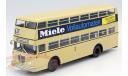 Büssing D2U Doppeldecker Miele, масштабная модель, Bussing, Minichamps, 1:43, 1/43