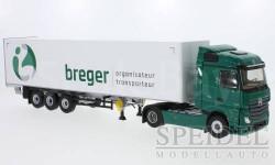 Mercedes Actros2 Streamspace, Breger, масштабная модель, Eligor, scale43, Mercedes-Benz