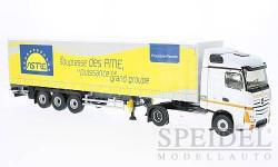Mercedes Actros 2 Tautliner, Astre, масштабная модель, Eligor, scale43, Mercedes-Benz