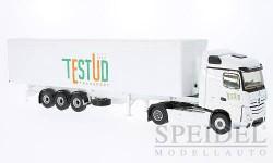 Mercedes Actros 2 Streamspace, Testud Transport, масштабная модель, Eligor, scale43, Mercedes-Benz