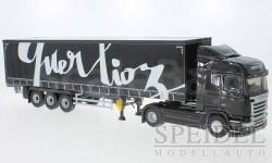 Scania Streamline, Transports Querlioz, масштабная модель, Eligor, 1:43, 1/43