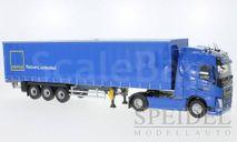 Volvo FH 4 Tautliner, blau, GEFCO, масштабная модель, Eligor, 1:43, 1/43
