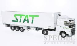 Volvo FH 4 Frigo, weiss, STAT Chereau Transport, масштабная модель, Eligor, scale43