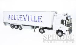 Volvo FH 4 Globetrotter Semi Frigo Chereau, Transports Belleville, масштабная модель, Eligor, 1:43, 1/43