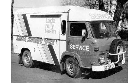 Avia A21F, Lada service team VFTS, масштабная модель, ВАЗ, IXO Rally (серии RAC, RAM), scale43