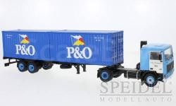 Volvo F10, P&O, масштабная модель, IXO грузовики (серии TRU), 1:43, 1/43