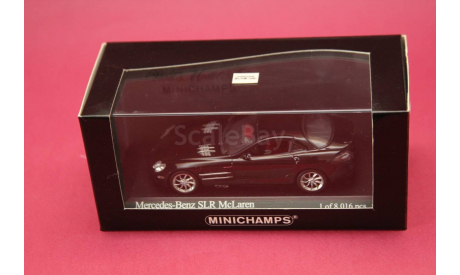 Mercedes Benz SLR, масштабная модель, Mercedes-Benz, Minichamps, 1:43, 1/43