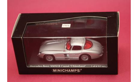 Mercedes Benz 300SLR, масштабная модель, Mercedes-Benz, Minichamps, 1:43, 1/43