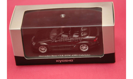 Mercedes Benz CLK DTM AMG Cabriolet, масштабная модель, Mercedes-Benz, Kyosho, 1:43, 1/43