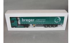 SCANIA  S450 TRUCK TELONATO BREGER