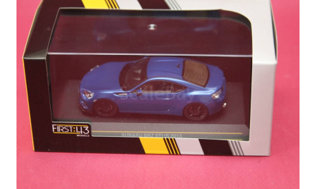 Subaru BRZ STI tS, масштабная модель, First 43 Models, scale43