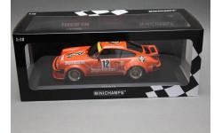 Porsche 911 (934) #12 Team Max Morita Jagermeister, масштабная модель, Minichamps, 1:18, 1/18