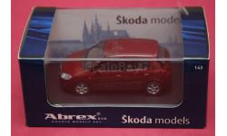 Skoda Fabia II, масштабная модель, Škoda, Abrex, 1:43, 1/43